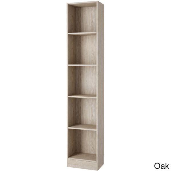 black corner bookshelf skinny bookcase shelf wide