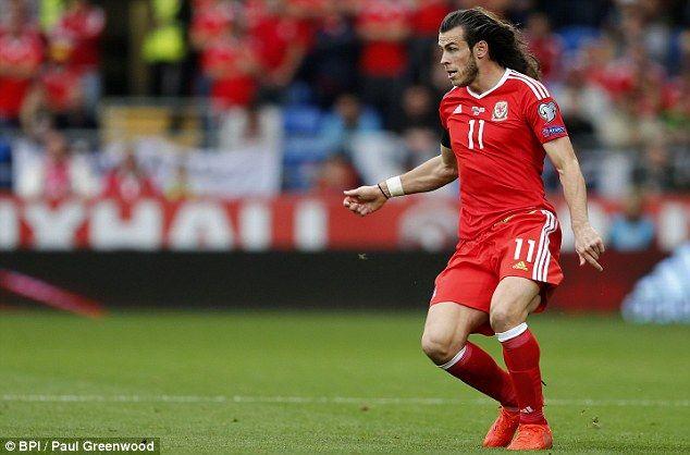 Gareth Bale Shows Off His Lengthy Locks During Wales 1 1 Georgia Gareth Bale Baling Georgia