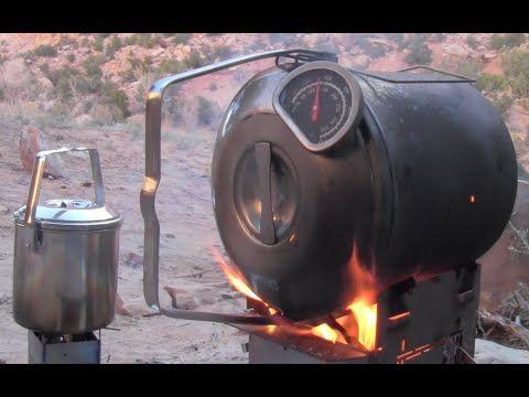 Camp Cooking Firebox Stove Zebra Bush
