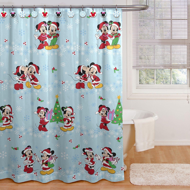 minnie mouse magic shower curtain