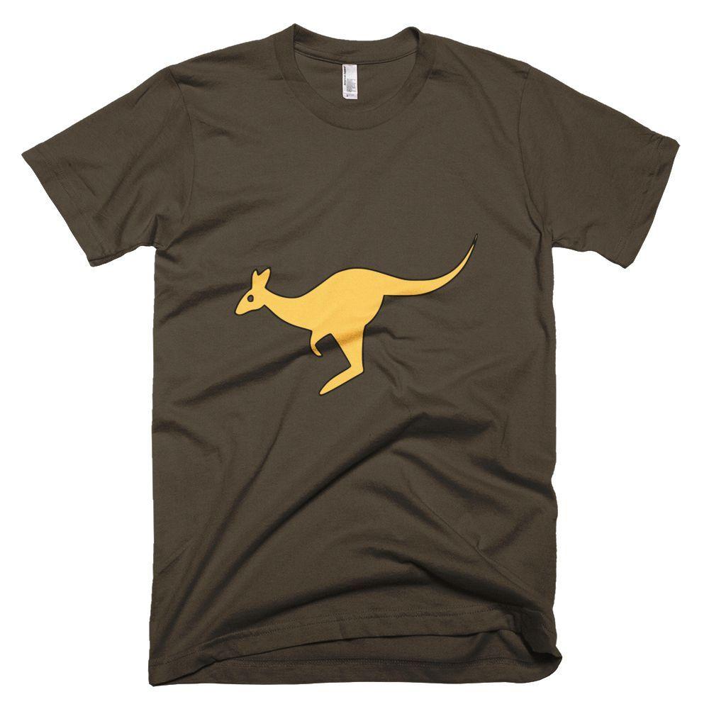 Kangaroo Custom Animal Tee