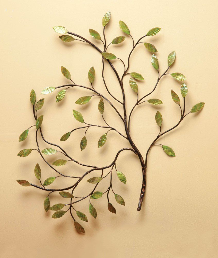 Amazon.com - Cape Craftsmen Metal Tree Wall Decor - Wall Sculptures ...