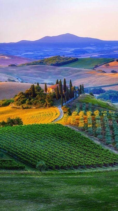 Toscana Italy Italy Photography Tuscany Landscape Beautiful Landscapes