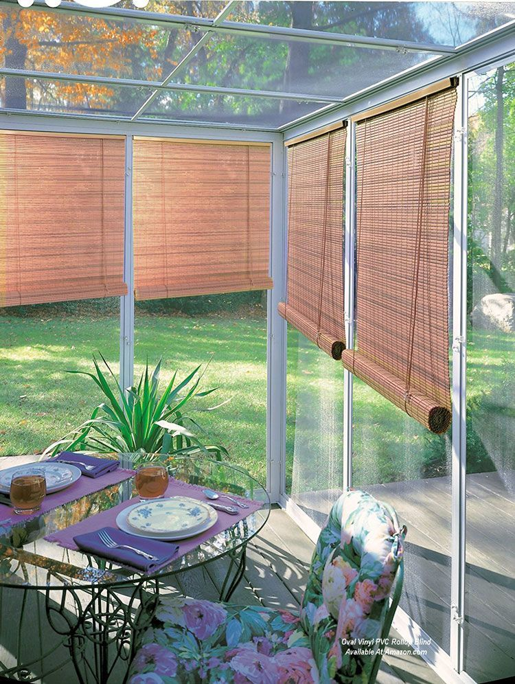 Vinyl Pvc Roll Up Blind By Lewis Hyman Available At Amazon Com Outdoor Blinds Blinds Design Blinds For Windows