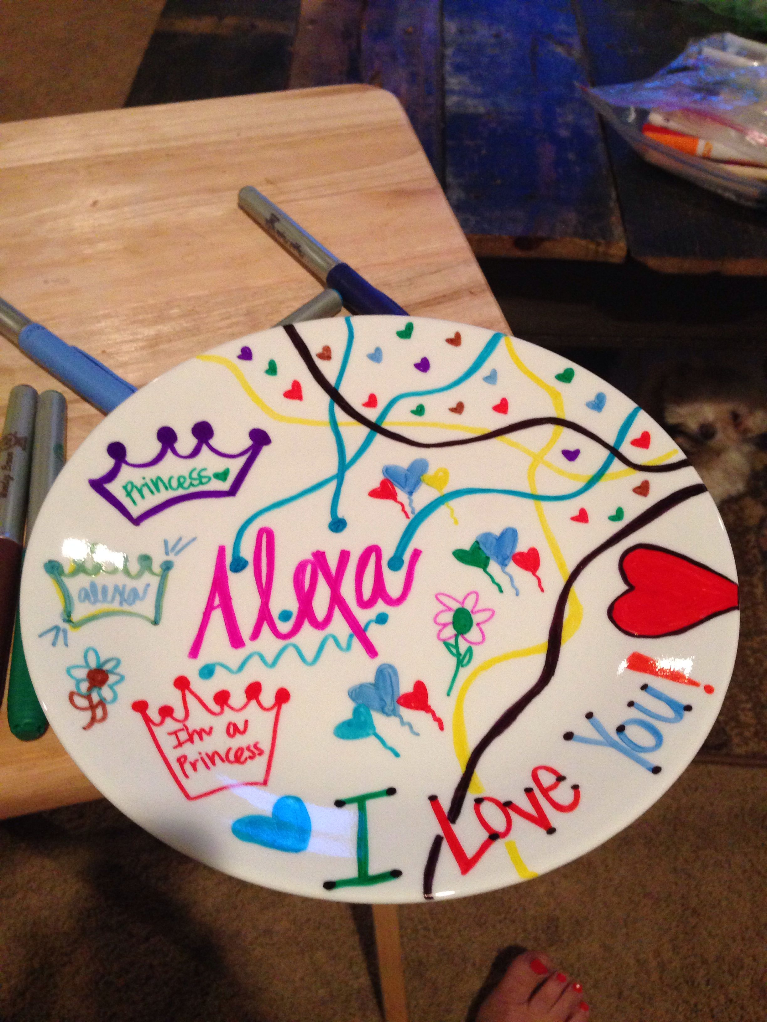 Diy Plate For Kids