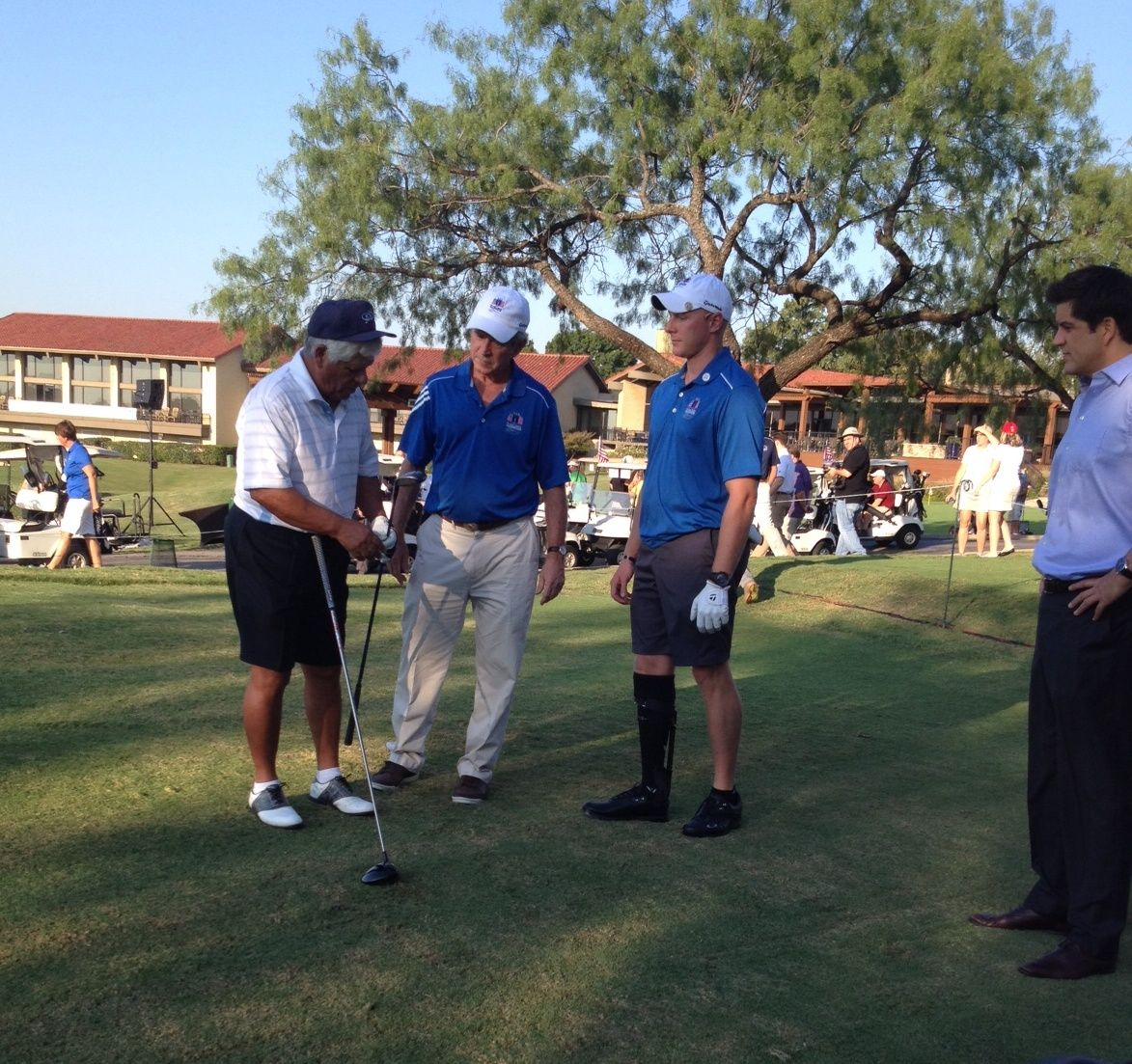 The Bush Center Warrior Open kicks off at Las Colinas