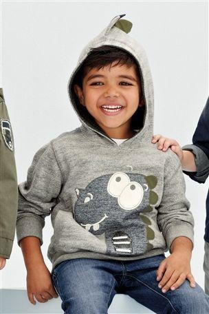 Next Bluza Dino 116 4095721697 Oficjalne Archiwum Allegro Hoodies Kids Fashion Graphic Sweatshirt