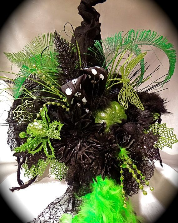 Elphaba 's Wicked Witch Hat by Marcellefinery