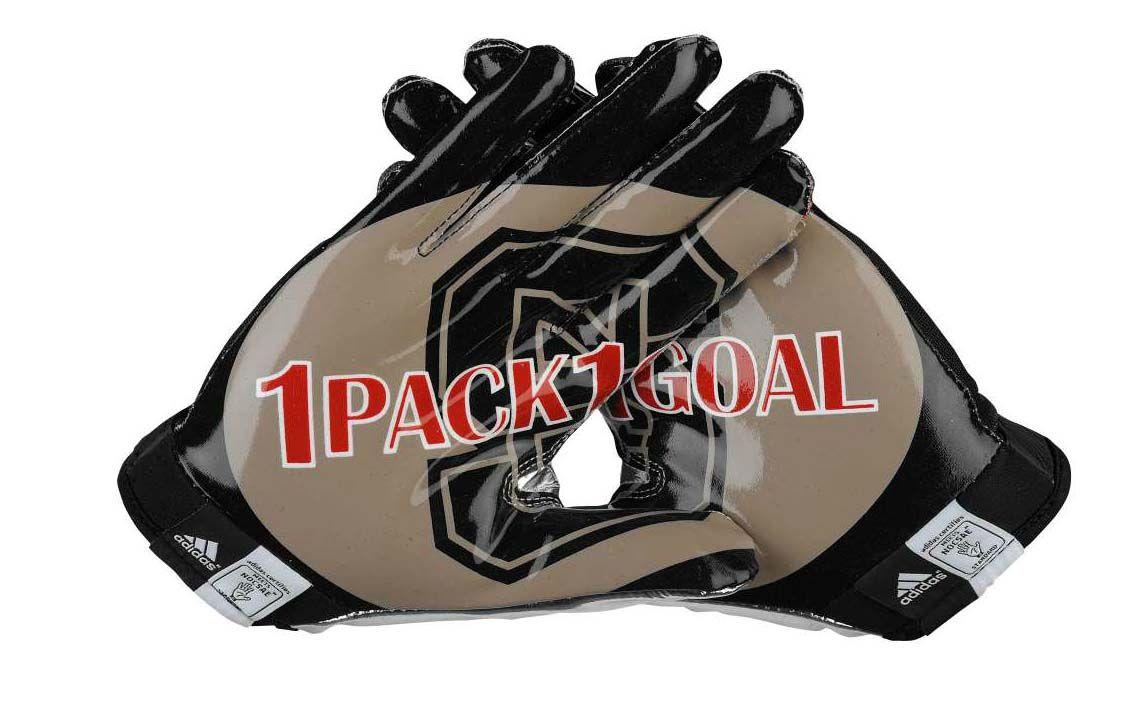 Adidas Adizero 5 Star College Series Football Gloves Nc State Wolfpack Nc State Football Gloves
