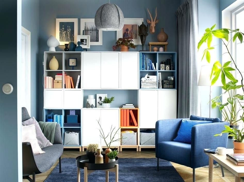 10 Amazing Wall Storage For Living Room