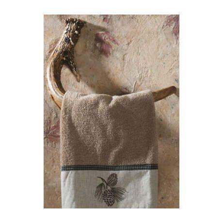 Mountain Mike S Antler Bathroom Accessories Hand Towel Hook