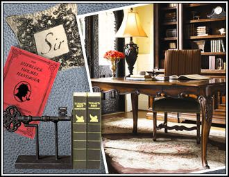 i pinned this from the sherlock holmes classic designs inspired by the famous sleuth event at. Black Bedroom Furniture Sets. Home Design Ideas