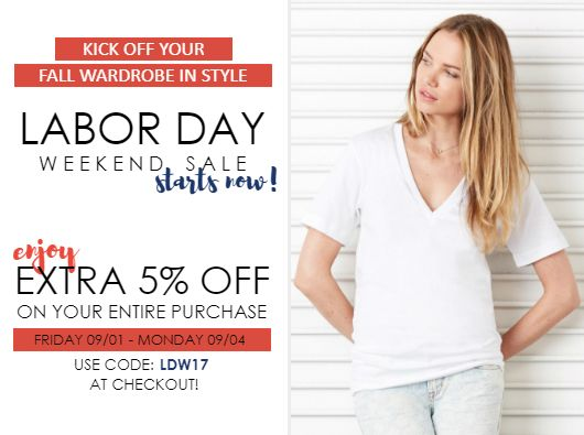 Labor Day 2017 Sale NYFifth Coupon Code