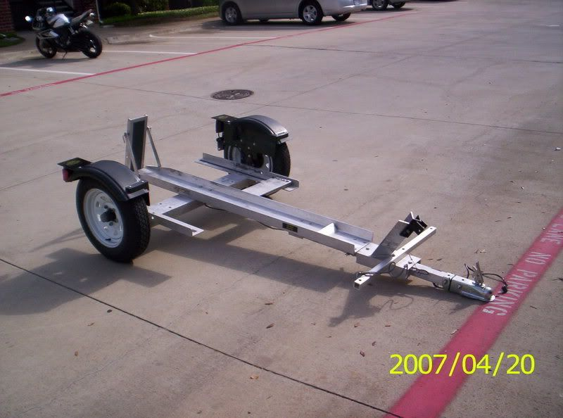 Single Rail Motorcycle Trailers Google Search