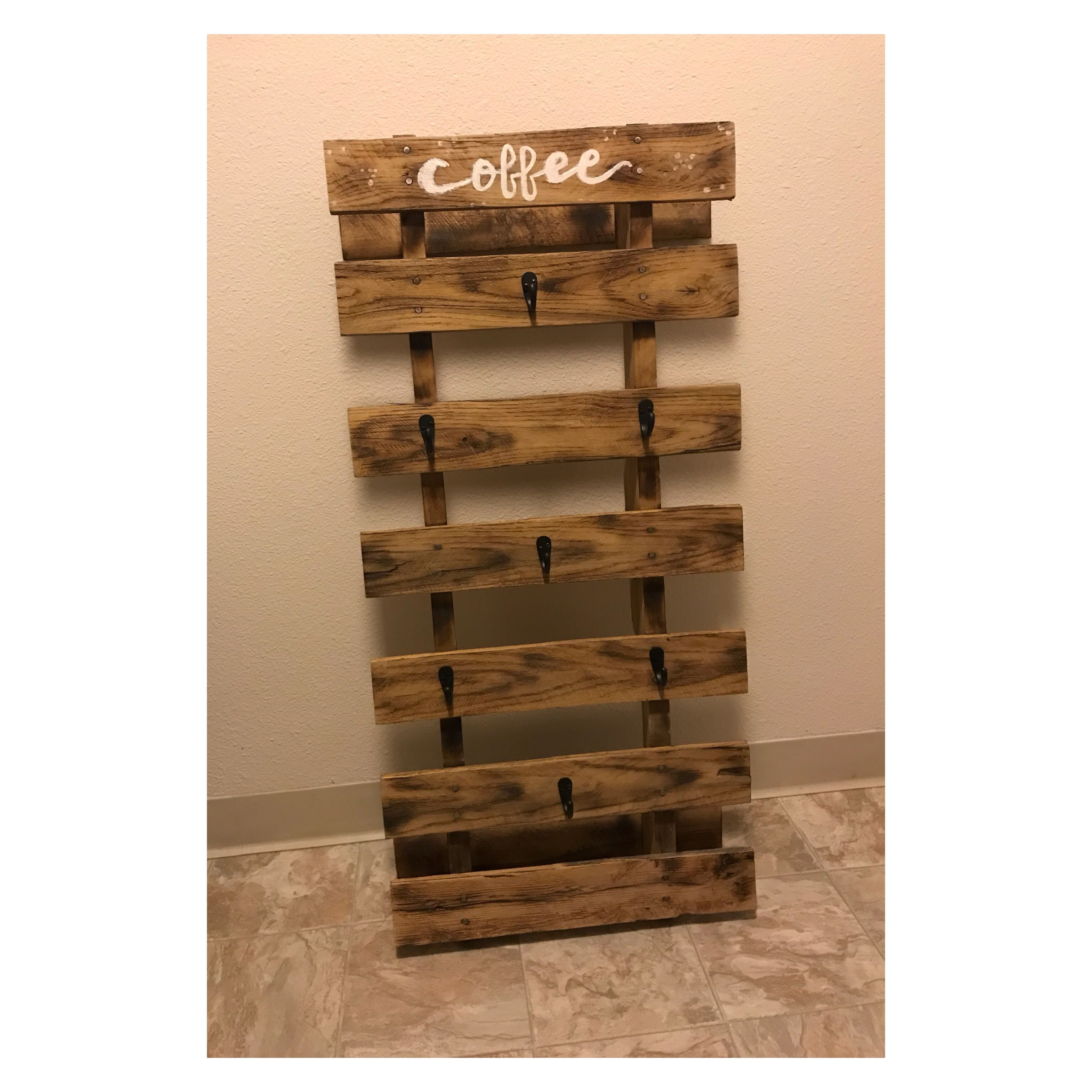 Coffee Pallet Rack