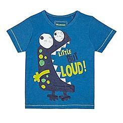 Bluezoo Kids Orange Headphone Print T-Shirt