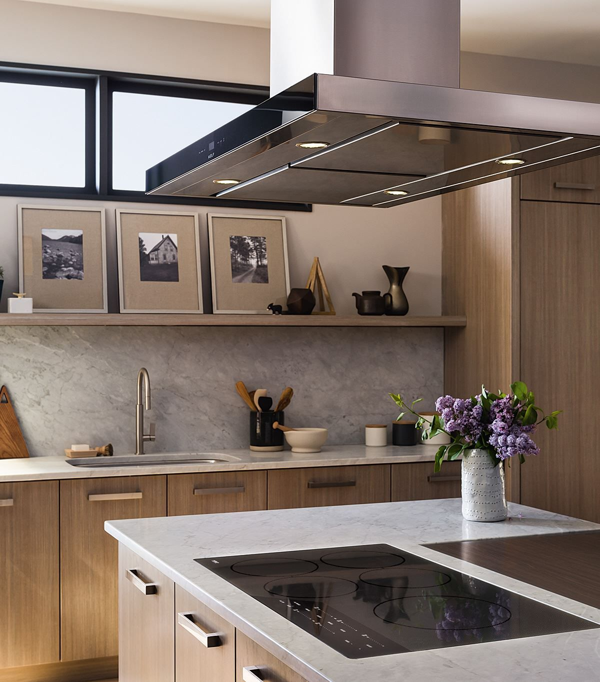 A Wolf Stove Hood Can Compliment Any Kitchen Design Luxury Kitchen Ventilation Options Include Wall Hoods Chimney Hoods Island Hoods Do Kitchen Hood Design Kitchen Ventilation Kitchen Island With Cooktop