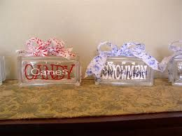 glass block crafts - Google Search
