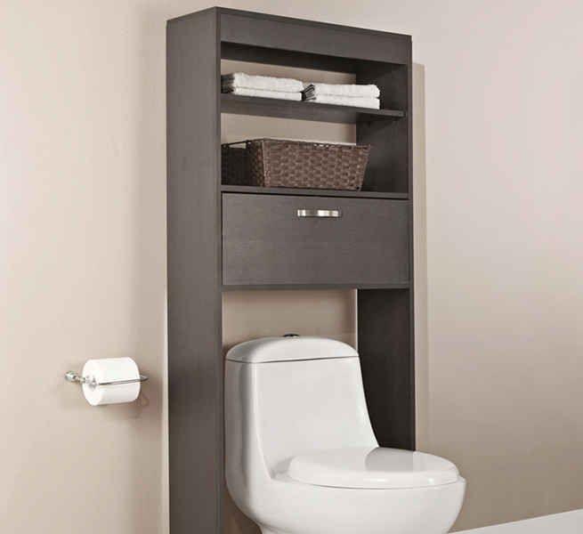 armarios y gabinetes para baños pequeños (1) | baños | Pinterest ...