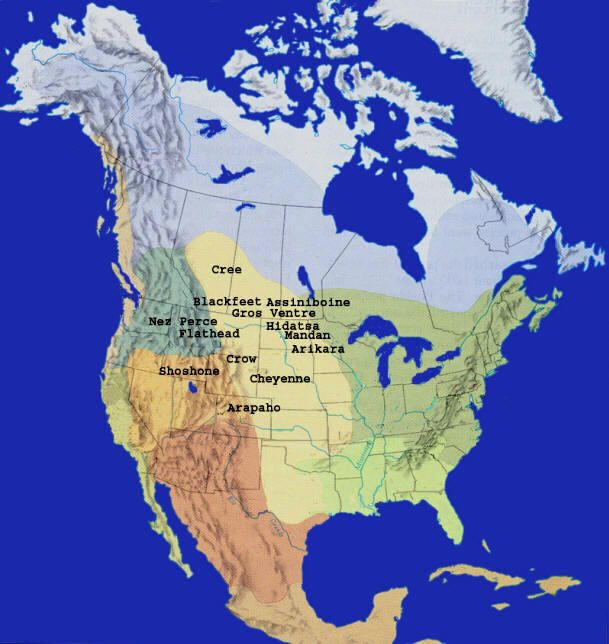 Mountain Men Fur Trade Era Supplies American Trappers Facts Maps