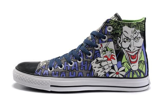 The Joker Converse Shoes.