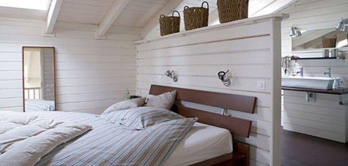 salle de bain design ouverte sur chambre - Côté maison | meuble ...