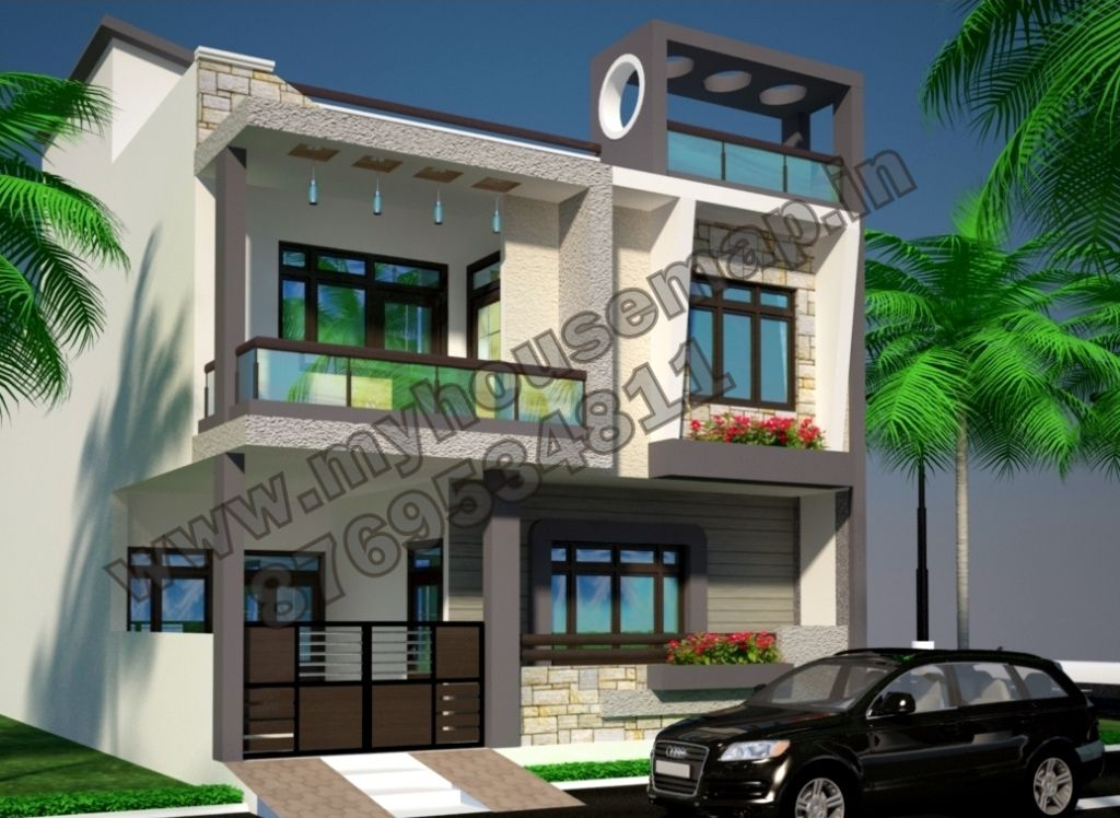 Duplex House Styles | House styles, Building plans house ...
