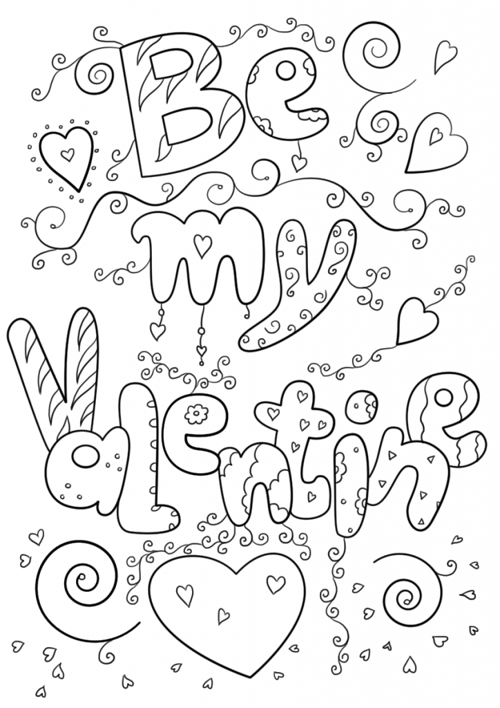 February Coloring Pages Crafts Valentine Rhpinterest: Coloring Pages For February At Baymontmadison.com