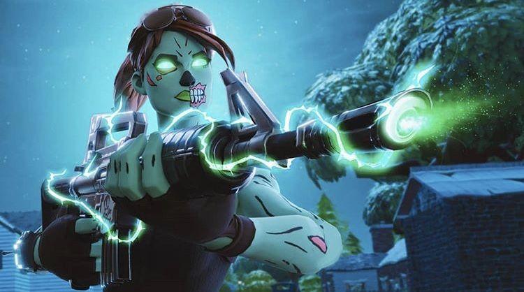 Fortnite Ghoul Trooper Ghoul Trooper Best Gaming Wallpapers Gaming Wallpapers