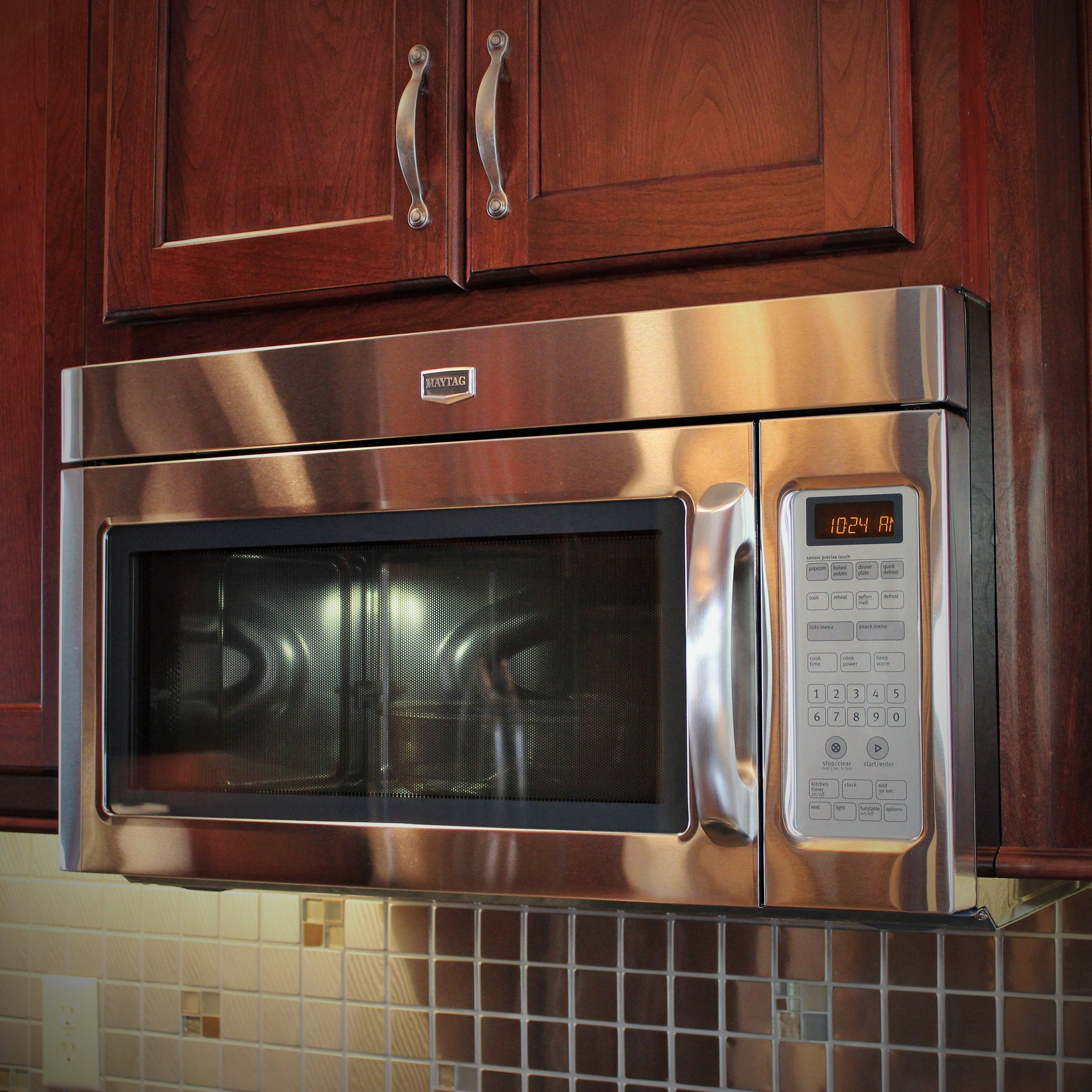 Stainless Over The Range Microwave Hood By Maytag This Looked