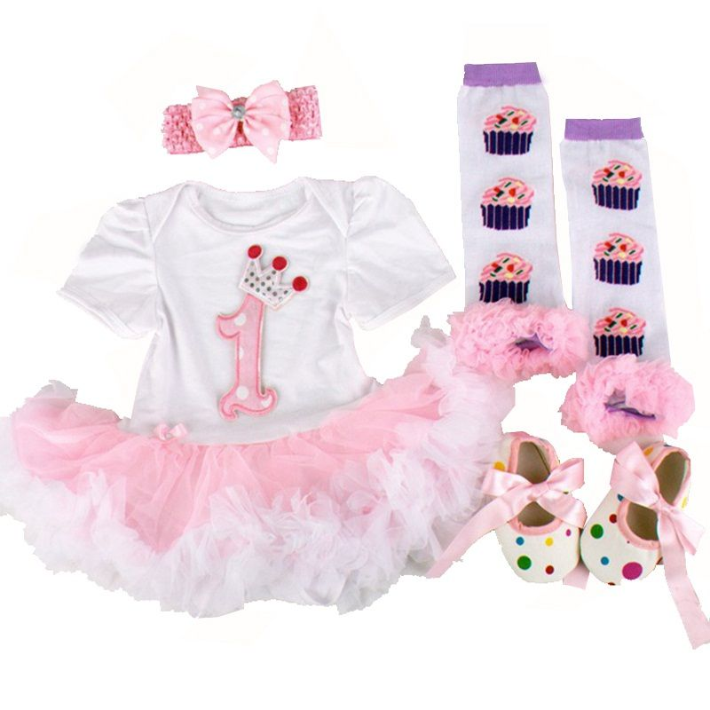 f4cf8e54213d Pink 1st Birthday Outfits For Girls   Price   27.58   FREE Shipping ...