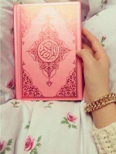 Pink Quran Sajadah Allah Cinta Allah