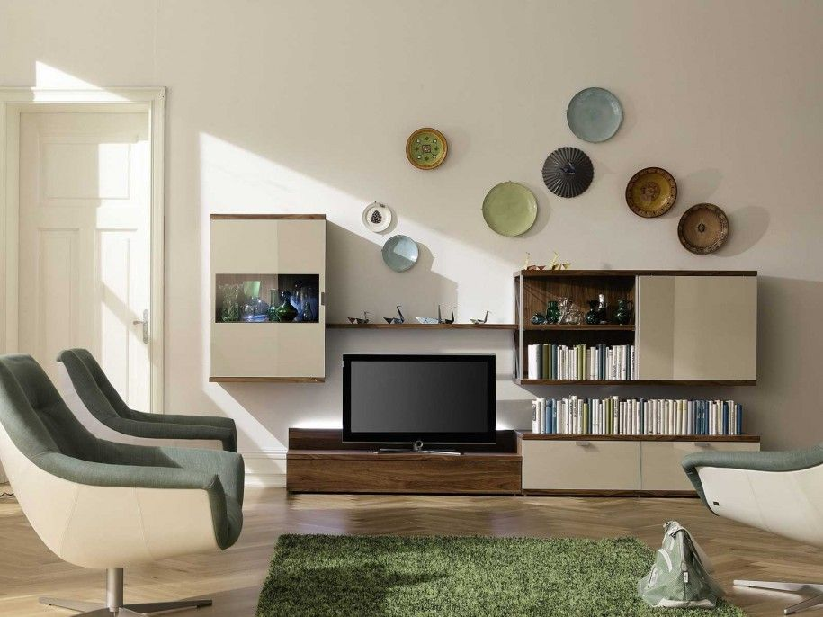 Superieur Room · Stylish Flat Screen TV Wall Designs Idea: Luxury Living ...