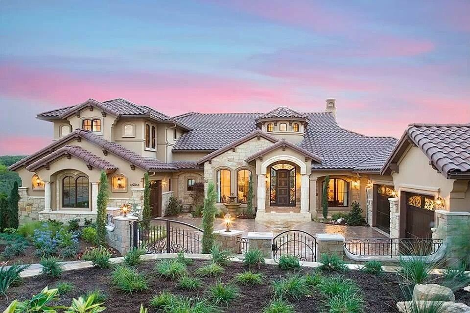 Pin By Melissa Kiger Mcartor On Fanciful Living Mediterranean Homes Exterior Mediterranean Homes House Designs Exterior
