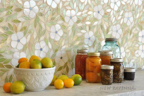Jacqueline Jewel Glass Mosaic | New Ravenna