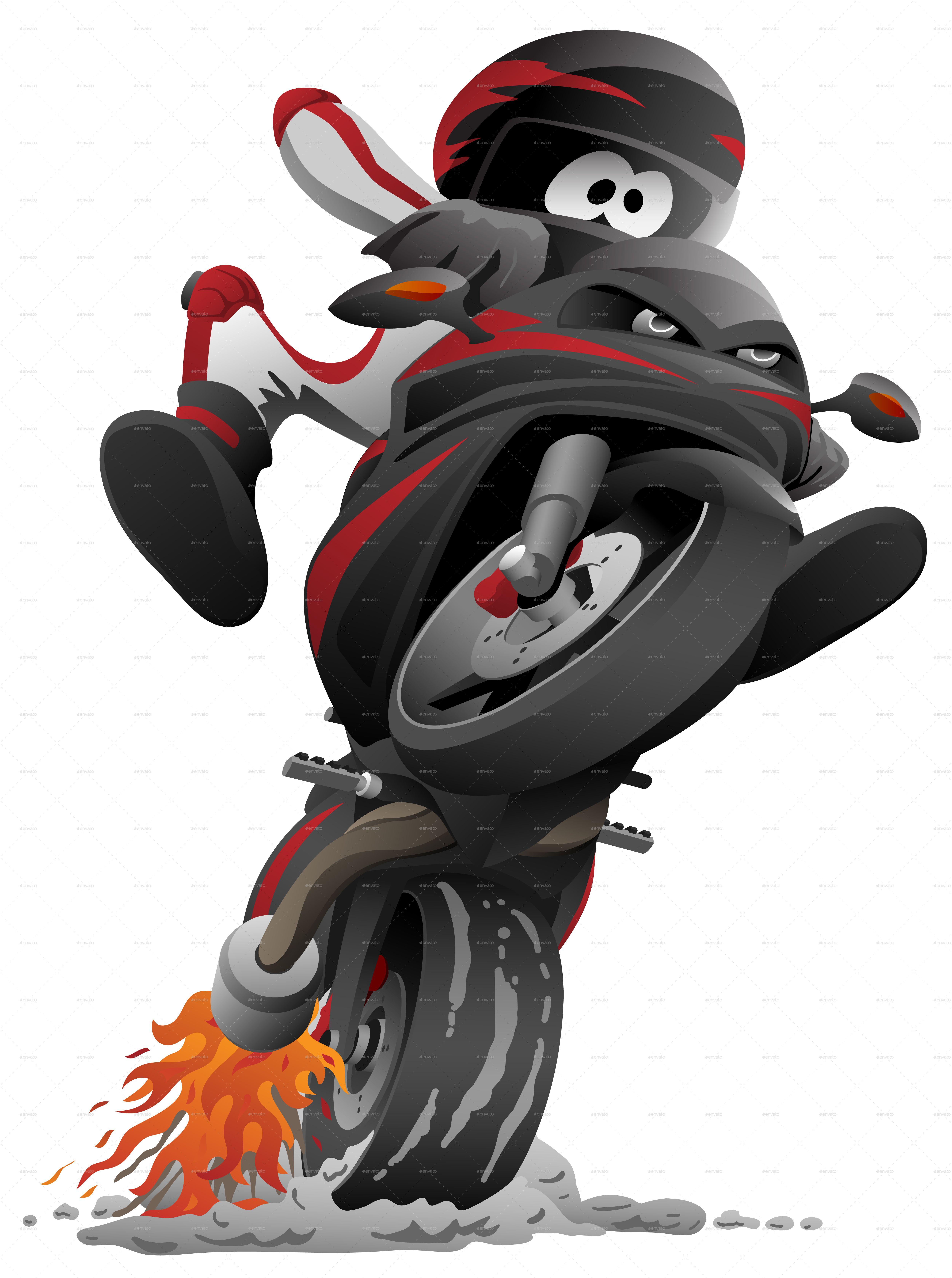Sportbike Motorcycle Vector Sports Bikes Motorcycles Sport