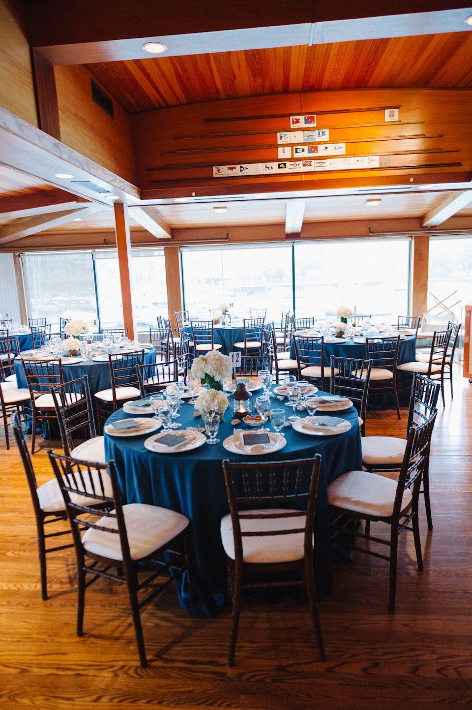 Yacht wedding decorations  Chicago Yacht Club Wedding  Yacht club Wedding and Chicago wedding