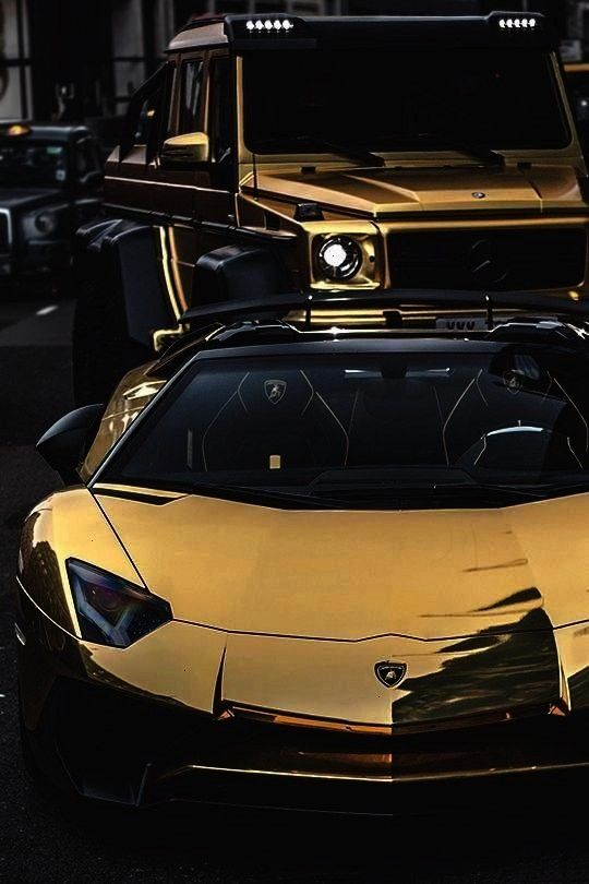 Wow! Billionaire gold plated supercars. When normal luxury cars aren't enoug... /...Luxury Lifestyl