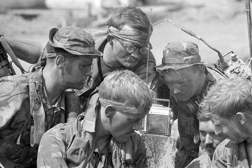 Vietnamkrieg Foto