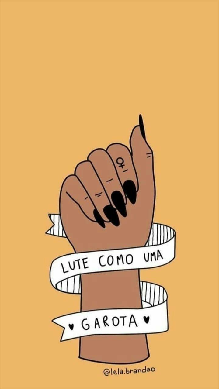 Walpaper feminist/ girl power
