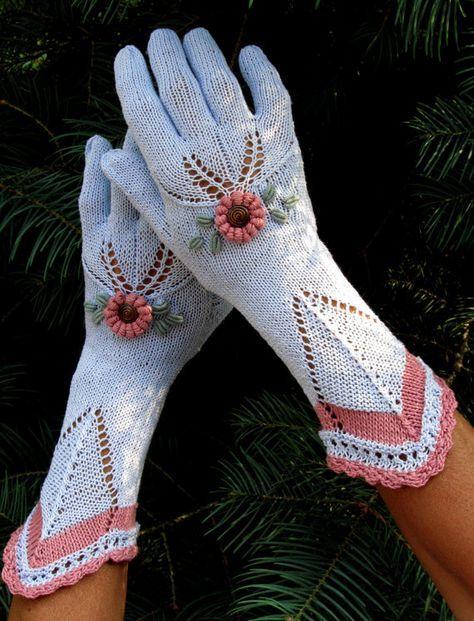 Pin von ytn auf перчатки крючком   Pinterest   Handschuh, Stulpen ...