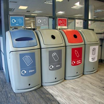 Nexus® 140 Recycling Bins Are The Best Choice For High Volume Recycling  Schemes,