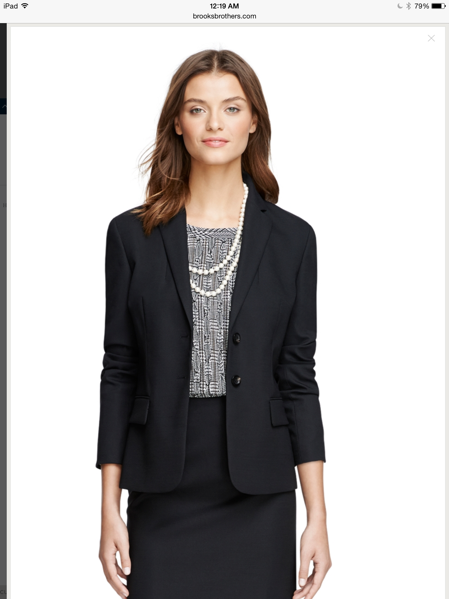 87bf61c1470a Shop Brooks Brothers women s suit sale and take advantage of discount  prices on suiting separates such as pants