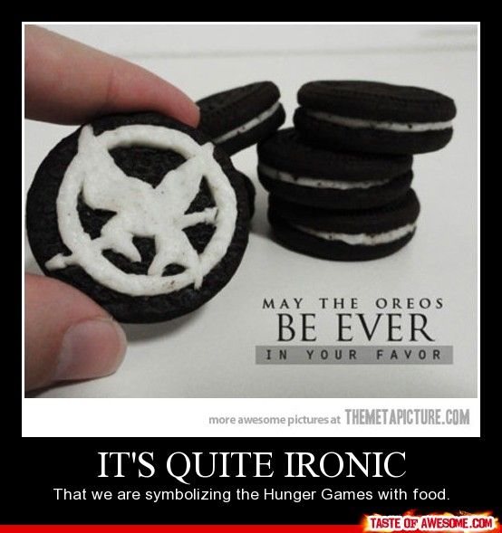 Remember when some rebels had the Mocking Jay on the cracker!