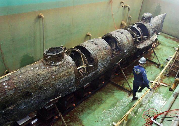 Hunley picture: Civil War submarine revealed