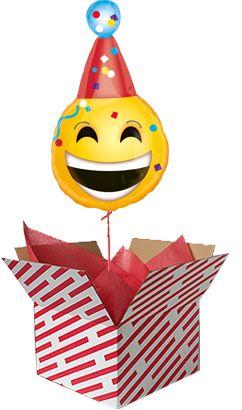 Birthday Emoji Smiley Face Balloon Happy Stuff Gifts