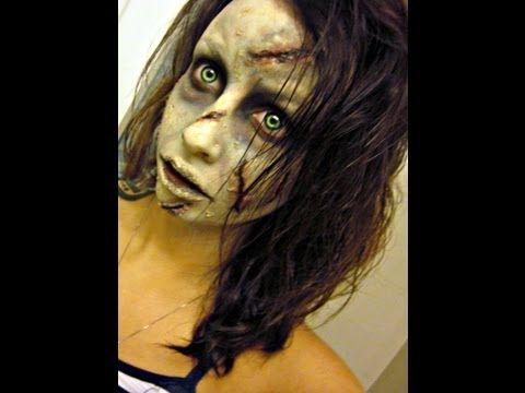 Regan the exorcist makeup / maquillaje regan, el exorcista.