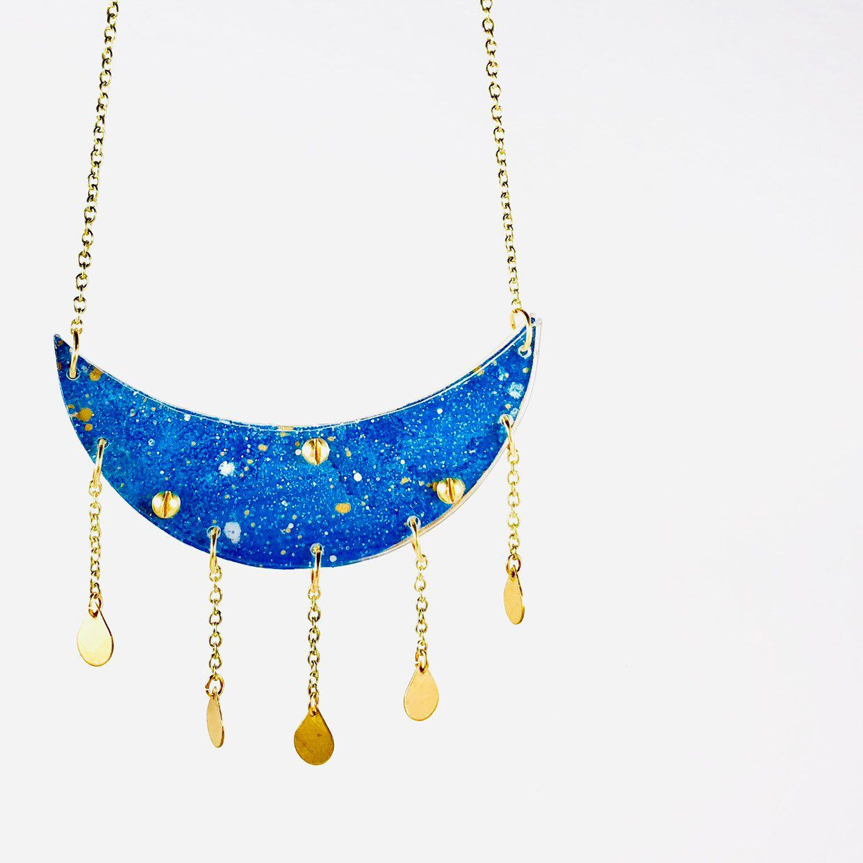 Make a wish Traveler Gift Sacred Geometry S Layered Necklace set Galaxy Jewelry Gift necklace Outer Space Outer space jewelry