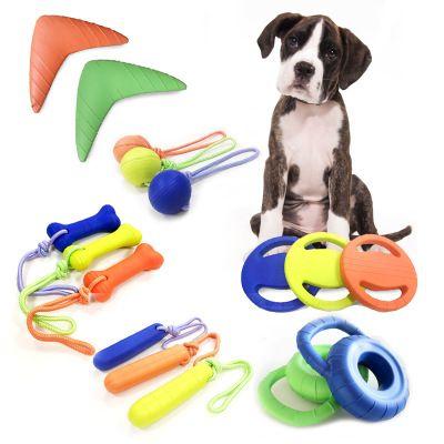 Wholesale Eva Foam Bite Training Dog Toys Bite Proof Tooth