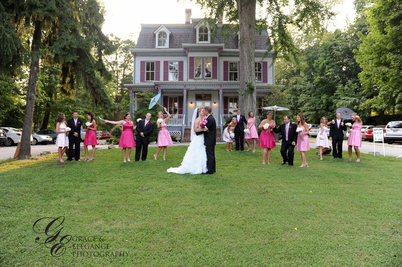 Historic Savage Mill Manor House Wedding Putting On The Ritz Catering Baltimore Caterers
